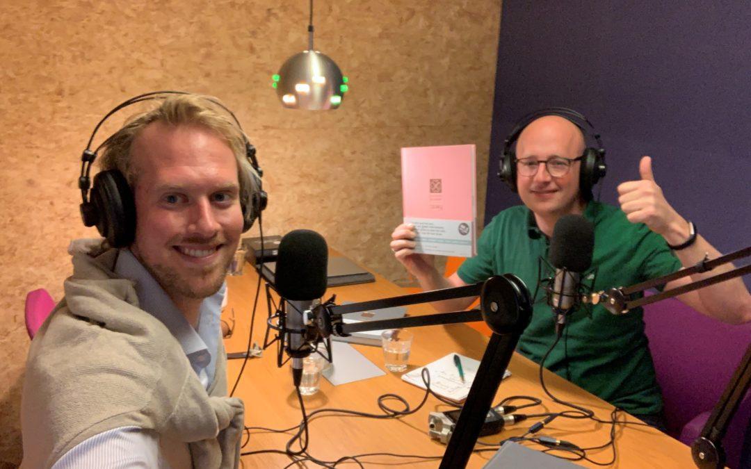 Aflevering 22 – Interview – Clen Verkleij, Purpuz – Over burn-out, balans, zelfvertrouwen en ondernemen zonder geld